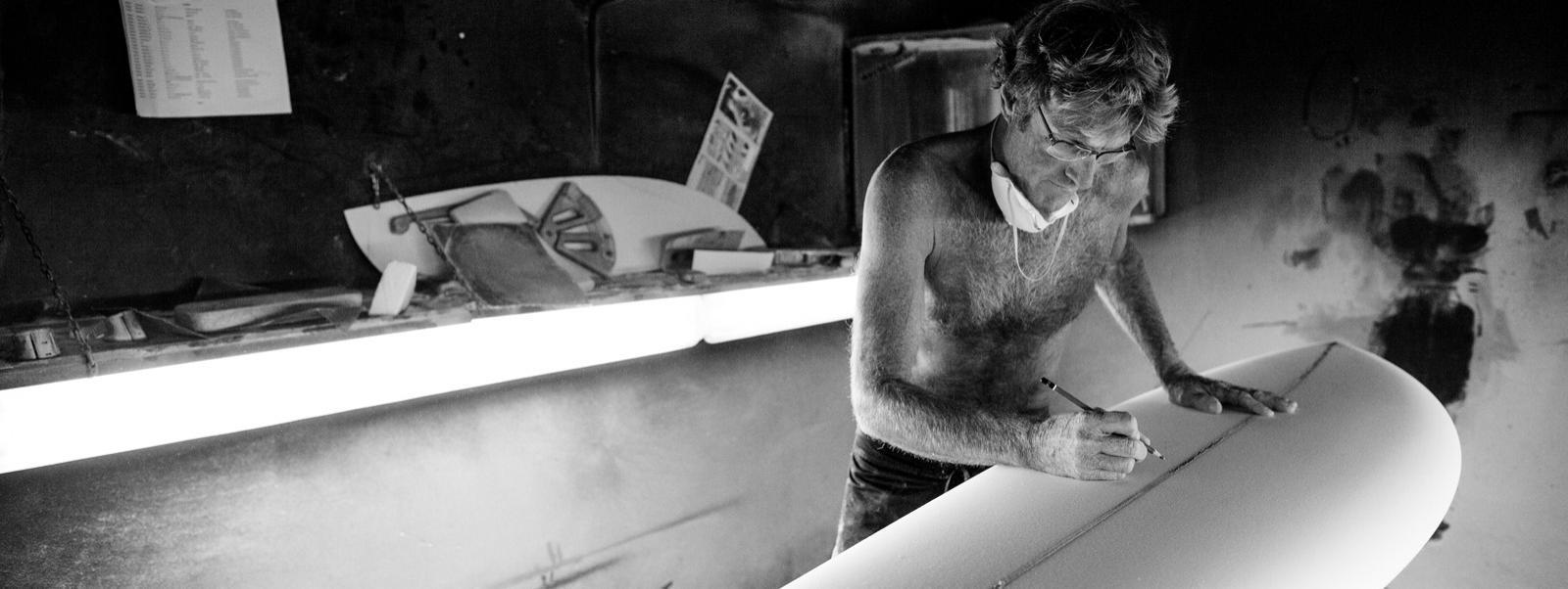 News Surf Shape sur mesure : le légendaire Larry Mabile en France !
