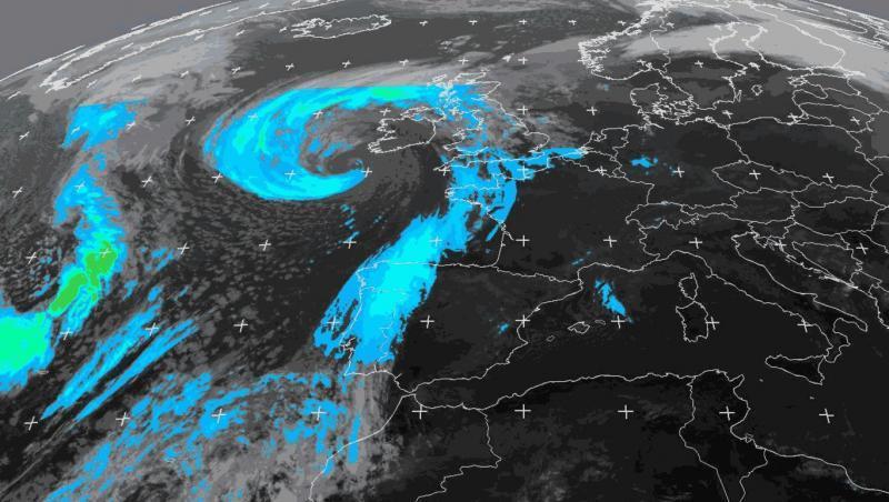 Info Météo L'Ouragan Ophélia arrive sur les côtes irlandaises
