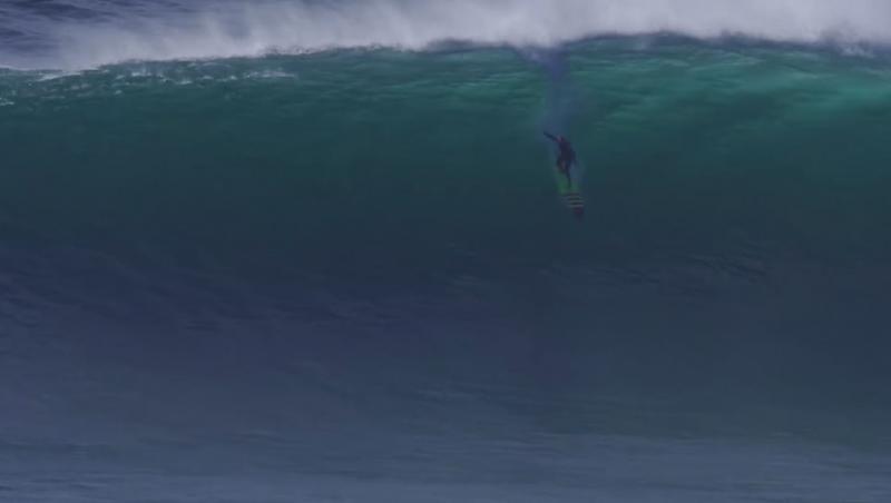 News Surf WSL Big Wave Awards : Garrett McNamara à la rame à Nazaré !