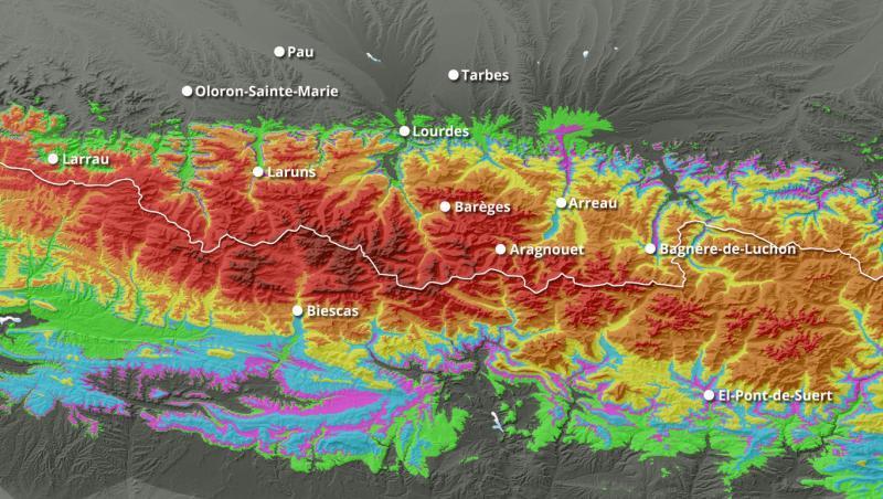 Alerte Météo Grosses chutes de neige en prévision sur l'ensemble des massifs français !