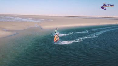 Vidéo windsurf : Julien Mas et Sam Esteve totalement synchro à Dakhla