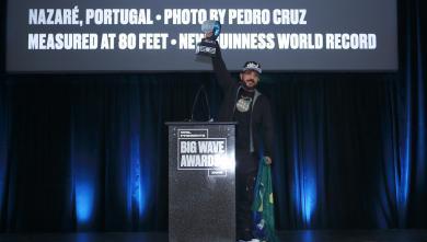 Surf XXL WSL Big Wave Awards 2018 : Rodriguo Koxa sacré pour un nouveau record avec une vague de 24.38m !