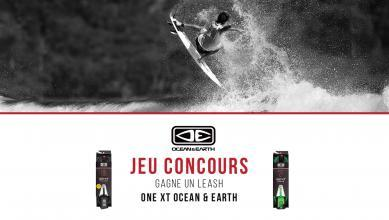Jeu concours : 10 leashes ONE XT Ocean & Earth à gagner !